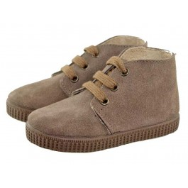 Bottines Safari Garçon Fille Daim