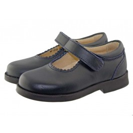 Chaussures d'Ecole Babies Fille Velcro