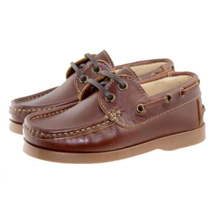 Chaussures Bateau Enfants Cuir
