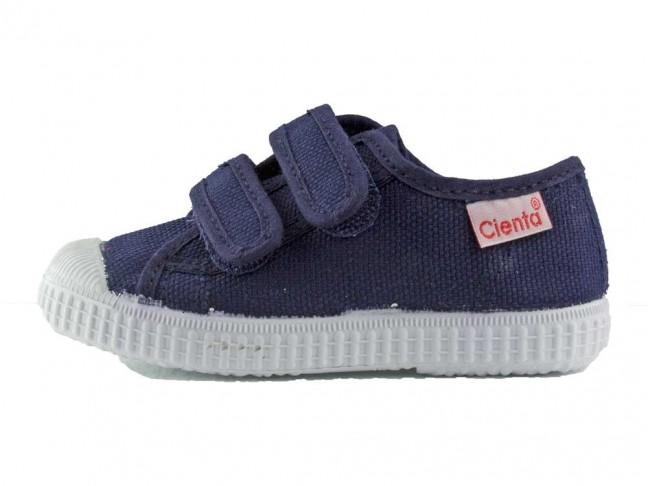 Baskets Toile Enfant Velcro
