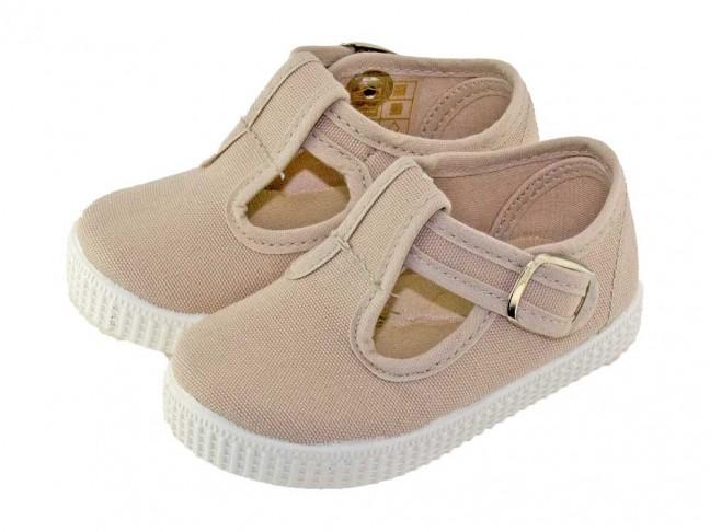Chaussures Salomé tissu enfants   Chaussures pas chères f0613e9df8d8