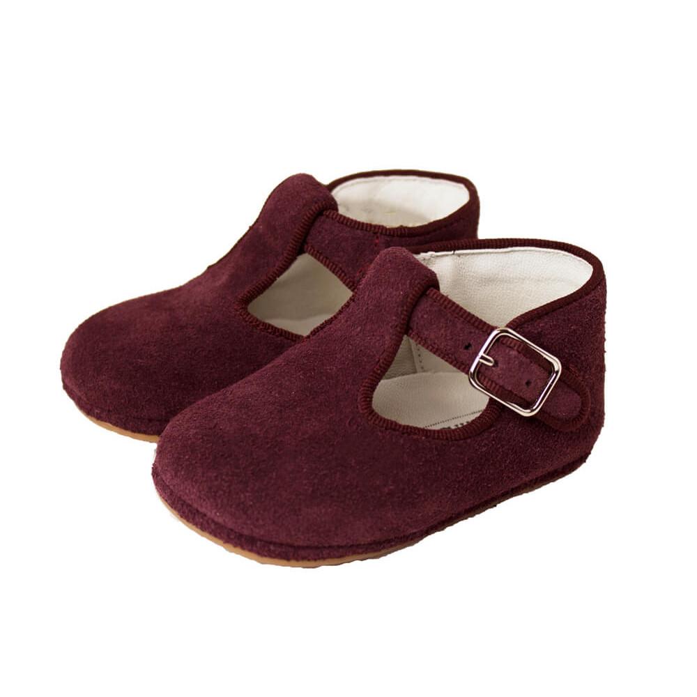 Chaussures Salomé Bébé Daim   Chaussure Enfant Online db91f2f3f17d