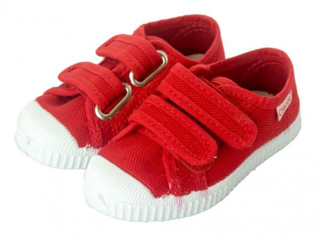 Zapatillas niño niña velcro