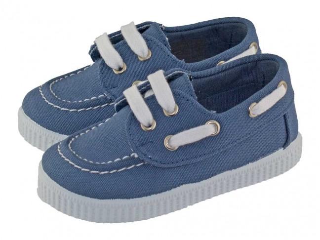 -20% Chaussures bateau enfant toile semelle tennis 70c694c7aee4
