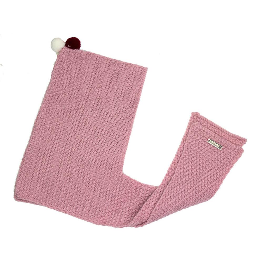 Bonnet Echarpe Enfants avec Minipompons CONDOR   Minishoes c447f2c1644