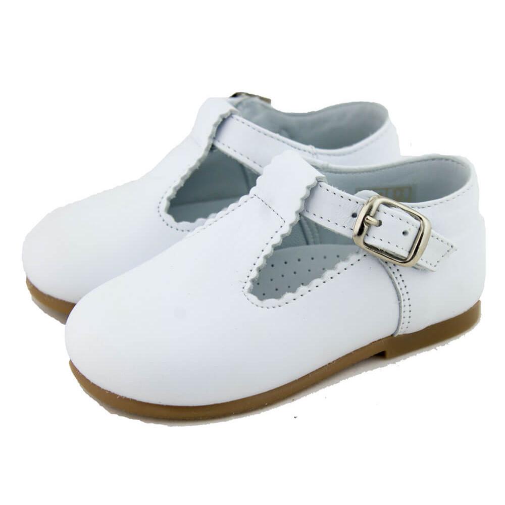 Chaussures Salomé Bébé Enfants Cuir | Chaussure Enfant Minishoes