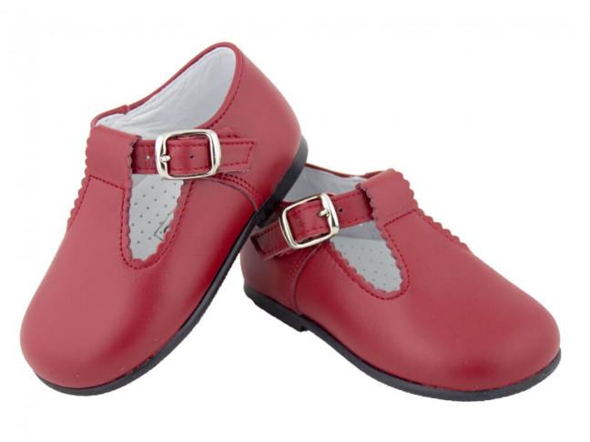 Chaussures Salomé Bébé Fille Garçon Cuir