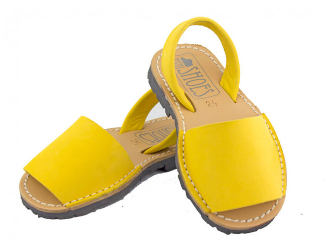 Sandales garçon fille Nubuck