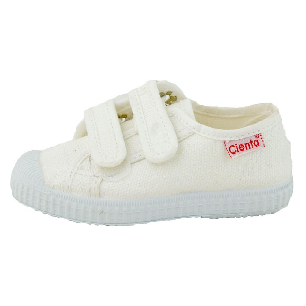Baskets Toile Enfant Velcro | Chaussures Enfants| Minishoes