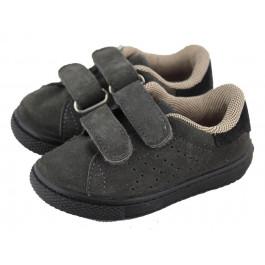 Zapatillas niña niño velcro serraje