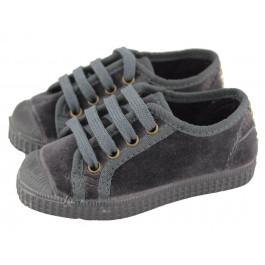 Zapatillas niño niña terciopelo puntera