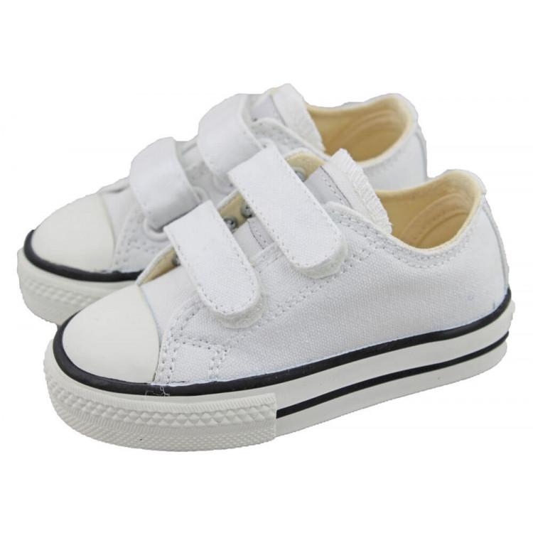 Zapatillas lona niño niña Victoria velcro