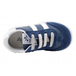 Zapatillas niños piel cordones